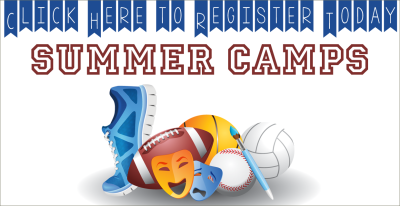 Summer Camps are coming! Register NOW!